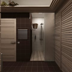สปา โดย A-partmentdesign studio, มินิมัล ไม้ Wood effect