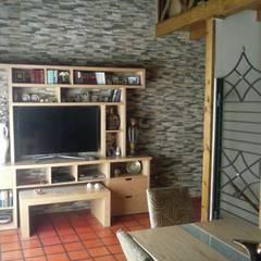 Wohnzimmer von MFL, Modern
