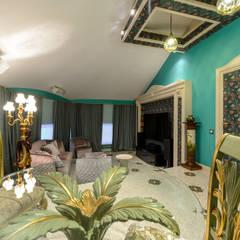 Дом в Сорочанах 2: Зимние сады в . Автор – Дизайн-студия «ARTof3L»