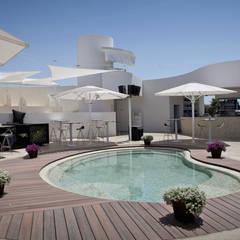 Oleaje Playa Granada Ocio y Gastronomía: Spa de estilo  de Gesdipro
