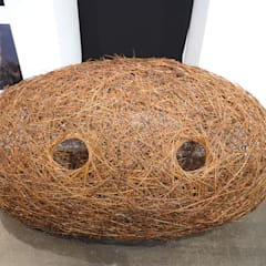 Triptyque de nids: Centre d'expositions de style  par Wood Basketry Workshop