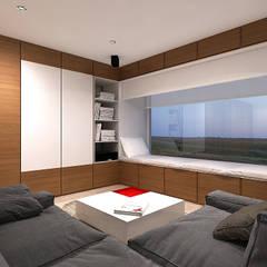 Окна в . Автор – A-partmentdesign studio