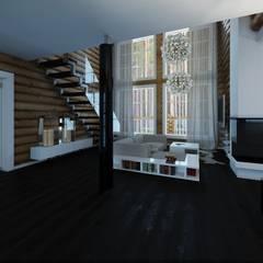 Стены в . Автор – A-partmentdesign studio