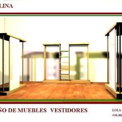 diseño de percheros : Palacios de congresos de estilo  de Interiorismo y Decoración Lola Torga