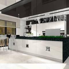 Cocinas de estilo  por Justyna Kurtz, Moderno