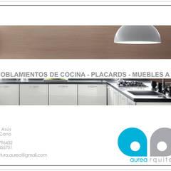 minimalist  by Aurea Arquitectura y Amoblamientos, Minimalist