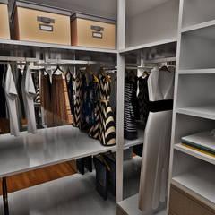 Closet: Closets ecléticos por Atelier Par Deux
