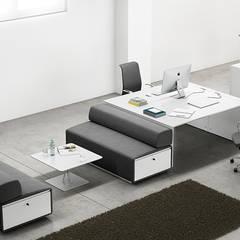 Collection DECK of FAMO  Company and design by Aitor Garcia de Vicuña ( AGVestudio ): Edificios de oficinas de estilo  de agvestudio
