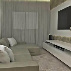 Vila Sônia, 42: Salas multimídia  por Atelier Par Deux,Minimalista