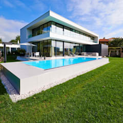 Haus E Moderne Häuser von ZHAC / Zweering Helmus Architektur+Consulting Modern