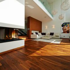 Haus E Moderne Wohnzimmer von ZHAC / Zweering Helmus Architektur+Consulting Modern
