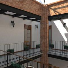 Projekty,  Korytarz, przedpokój zaprojektowane przez Taller Esencia