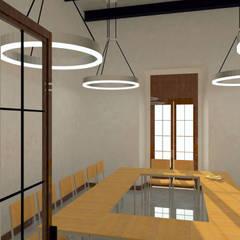 Conjunto Parroquial San Diego De Alcala: Estudios y oficinas de estilo colonial por Taller Esencia