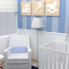 Render 3D Baby Room: Cuartos infantiles de estilo  por TRIBU ESTUDIO CREATIVO