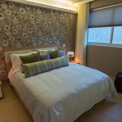 Apartamento B24: Cuartos de estilo  por TRIBU ESTUDIO CREATIVO, Moderno