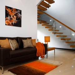 الممر والمدخل تنفيذ Savio and Rupa Interior Concepts