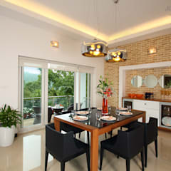 Dining room: modern Dining room by Savio and Rupa Interior Concepts