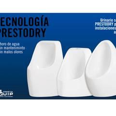 Tecnología PrestoDry: Instalaciones sin agua: Hospitales de estilo  de Presto Ibérica