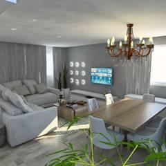 Sala de Jantar: Salas de jantar  por Studio M Arquitetura