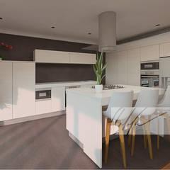 Apartamento Tucacas.: Comedores de estilo  por Arq.AngelMedina+