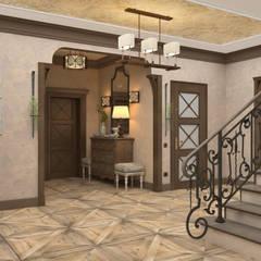 Corridor & hallway by Студия дизайна Дарьи Одарюк