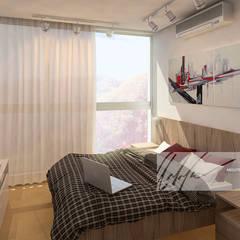 Proyecto unifamiliar Apartamento El Parral: Cuartos infantiles de estilo  por Arq.AngelMedina+
