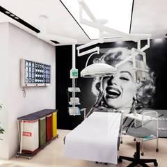Propuesta De Remodelacion para Consultorios Odontologicos de Arq.AngelMedina+ Minimalista Concreto