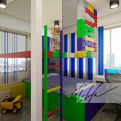 Apartamento Residencial: Cuartos infantiles de estilo  por Arq.AngelMedina+