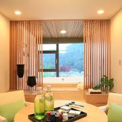 풍경,그곳에 살어리 랏다 [발트하임 설악] 모던스타일 침실 by 한글주택(주) 모던