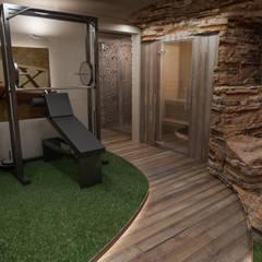 Progetto Spa Domestica: Spa in stile  di studiosagitair