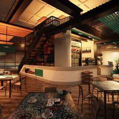 """RISTORANTE """"MANTAGNATA"""" - SALENTO RESTAURANT: Bar & Club in stile  di Geometra Alessandro Zanetti"""