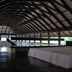 View of roof from loft Minimalist bedroom by GDKdesigns Minimalist