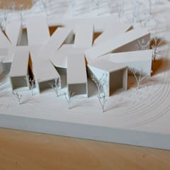 Bauhaus Dessau Museus modernos por Studio CSD Moderno