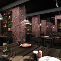 DE MERKA MİMARLIK  – MOSKOVA LOUNGE 2012:  tarz Bar & kulüpler