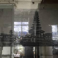 Temple print mixed media:  Bedroom by Dominic Schuster Ltd.