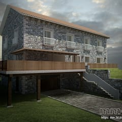 Mountain House: Hoteles de estilo  de mm-3d