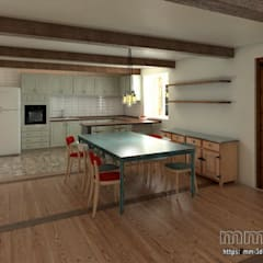 Kitchen: Hoteles de estilo  de mm-3d