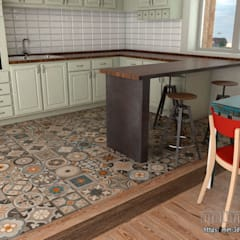 Kitchen details: Hoteles de estilo  de mm-3d