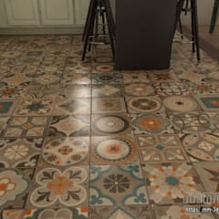 Kitchen. Floor detail: Hoteles de estilo  de mm-3d