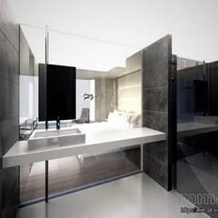 Hotel room. Bathroom: Hoteles de estilo  de mm-3d