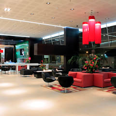 Hotel AR: Hoteles de estilo  por Arquint Colombia