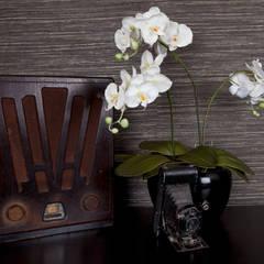 Gentleman's Bedroom: Antique styling:  Bedroom by Lothian Design