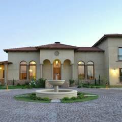 Vivienda en Algodon Wine Estates - Lote E11: Casas de estilo  por Azcona Vega Arquitectos