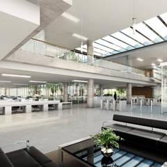 Ministerio Salud de la Ciudad de Buenos Aires (Nueva Sede): Estudios y oficinas de estilo  por 1.61 Arquitectos