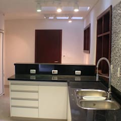 Cocinas de estilo  por MBDesign Arquitetura & Interiores