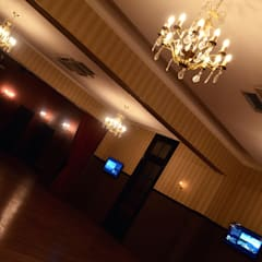 Refaccion edificio La Protectora. Salones de eventos de estilo clásico de Estudio Indo Clásico