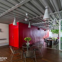 ESTUDIO 2XR: Estudios y oficinas de estilo industrial por Grupo Arquidecture