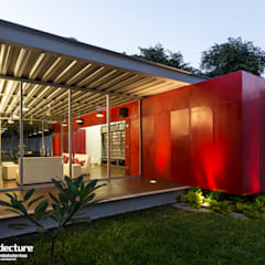 Houses by Grupo Arquidecture, Industrial میٹل