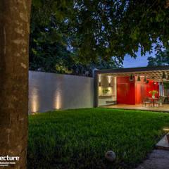 ESTUDIO 2XR: Casas de estilo industrial por Grupo Arquidecture