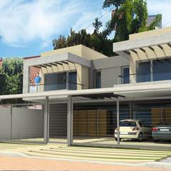 Viviendas JRV: Casas de estilo  por Comodo-Estudio+Diseño